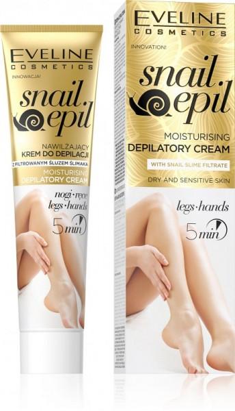 Eveline Cosmetics - Haarentfernungscreme - Snail Epil feuchtigkeitsspendende Enthaarungscreme