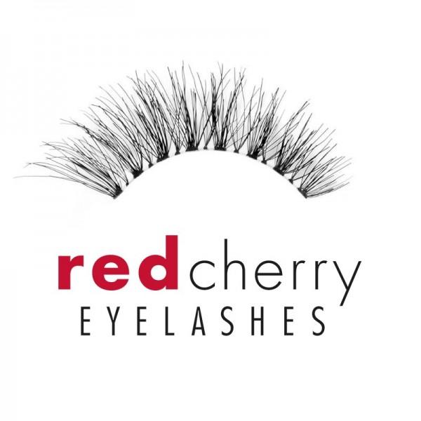 Red Cherry - Falsche Wimpern - Off Radar - Au Naturel - Echthaar