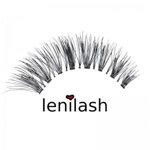 lenilash - False Eyelashes - Black - Human Hair - Nr.155