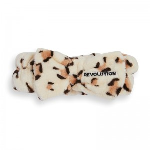 Revolution - Haarband - Skincare Luxe Leopard Headband