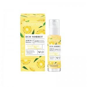 Bielenda - Serum - Eco Sorbet - Pineapple - Serum Booster - Moisturizing + Brightening - 30 ml