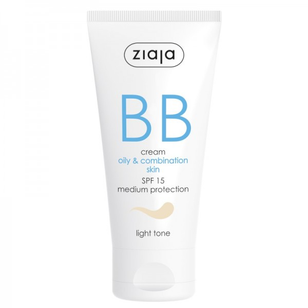 Ziaja - Gesichtspflege - BB Cream - Oily and Combination Skin - Light Tone SPF15