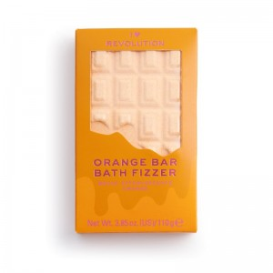 I Heart Revolution - Chocolate Bar Bath Fizzer Orange