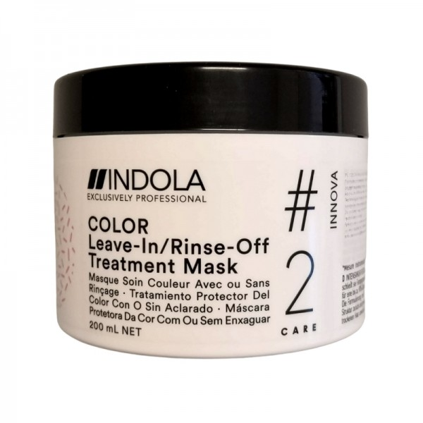 Indola - Innova Color Leave-in/Rinse-off Treatment Hair Mask - 200ml