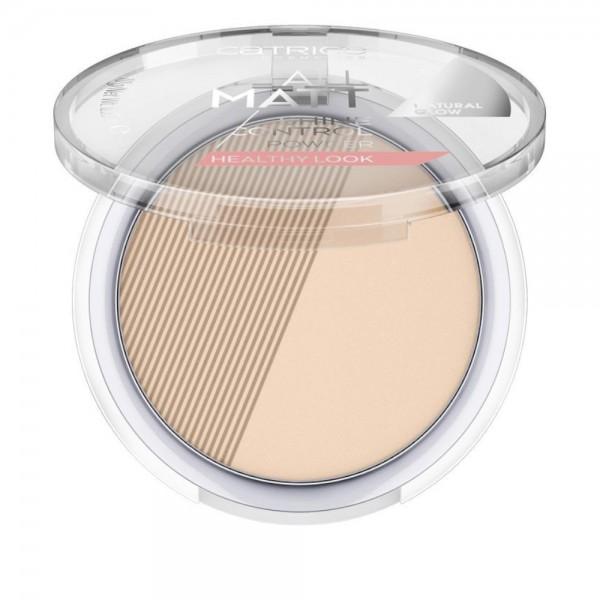 Catrice - Puder - All Matt Shine Control Powder Healthy Look - 100 Neutral Fresh Beige