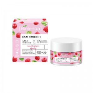 Bielenda - Gesichtscreme - Eco Sorbet - Raspberry - Face Cream Moisturizing + Soothing - 50 ml