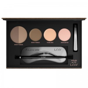 L.O.V - Augenbrauenpalette - BROWTTITUDE professional eyebrow palette 500