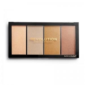 Revolution - Bronzer & Highlighterpalette - Reloaded Lustre Lights Heatwave
