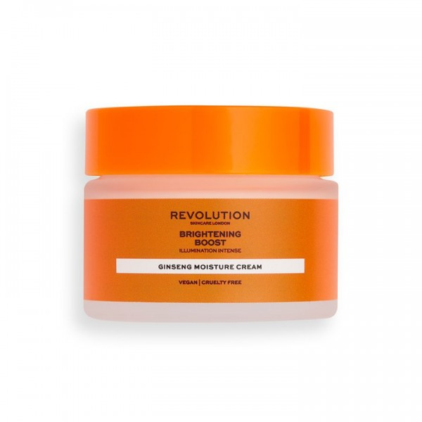 Revolution - Tagespflege - Skincare Brightening Boost Cream with Ginseng