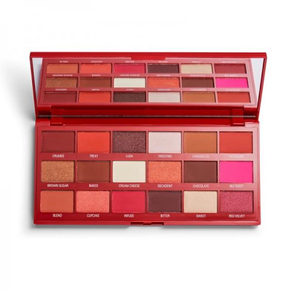 I Heart Revolution - Lidschattenpalette - Red Velvet Chocolate Palette