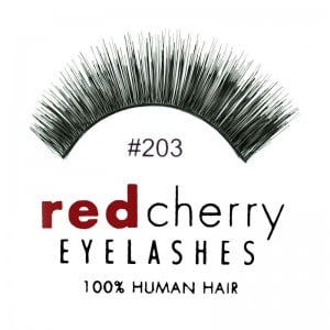 Red Cherry - Falsche Wimpern Nr. 203 Jasmine - Echthaar
