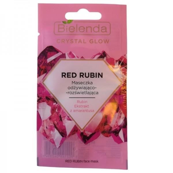 Bielenda - Gesichtsmaske - Crystal Glow Red Rubin Face Mask