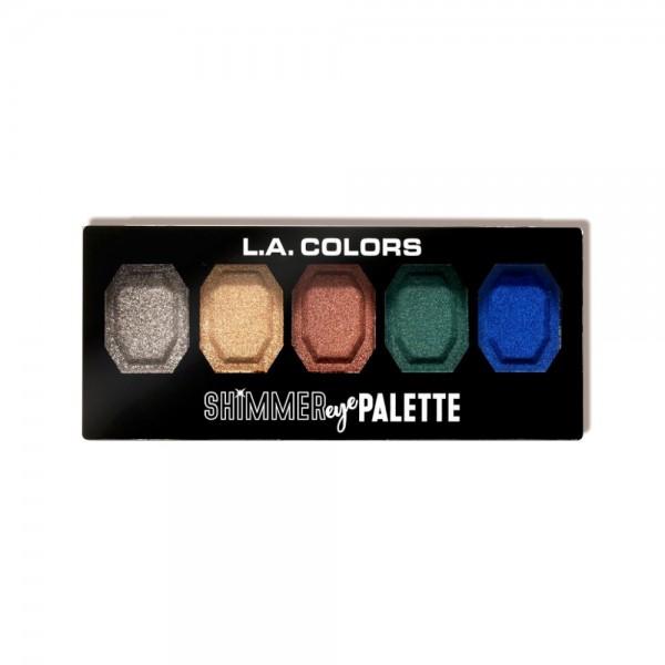 LA Colors - Eyeshadow Palette - Shimmer Eye Palette - Be Bright