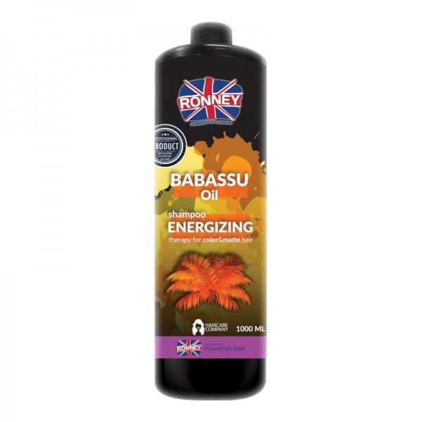 Ronney Professional - Haarshampoo - Babassu Oil Energizing Therapy Shampoo - 1000ml