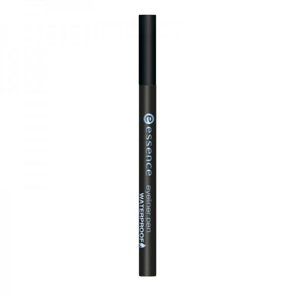 essence - Eyeliner Stifte - eyeliner pen waterproof - 01 deep black