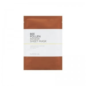 Missha - Bee Pollen Renew Sheet Mask