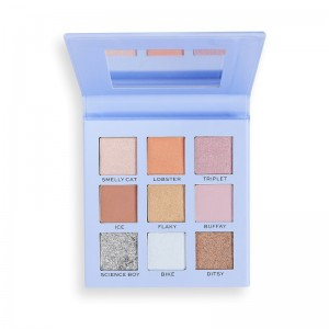 Makeup Revolution - Lidschattenpalette - Revolution X Friends Phoebe Palette