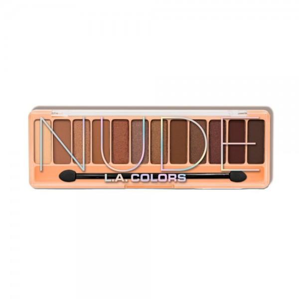 LA Colors - Lidschattenpalette - Color Vibe Eyeshadow Palette - Nude