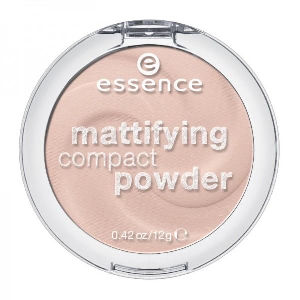 essence - mattifying compact powder 10