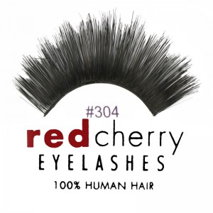 Red Cherry - Falsche Wimpern Nr. 304 Giovanna - Echthaar