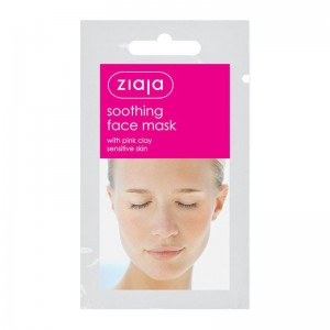 Ziaja - Gesichtsmaske - Pinke Tonerde - Soothing face mask with pink clay