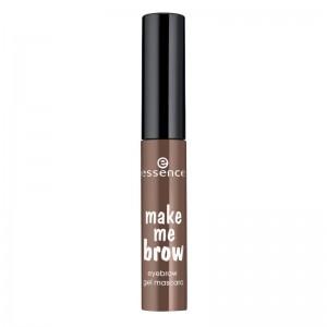 essence - Augenbrauen Gel - make me brow - eyebrow gel mascara 02 - browny brows