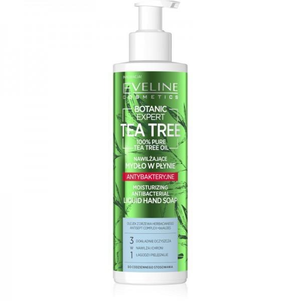 Eveline Cosmetics - Handseife - Botanic Expert Tea Tree Moisturizing Antibacterial Liquid Hand Soap