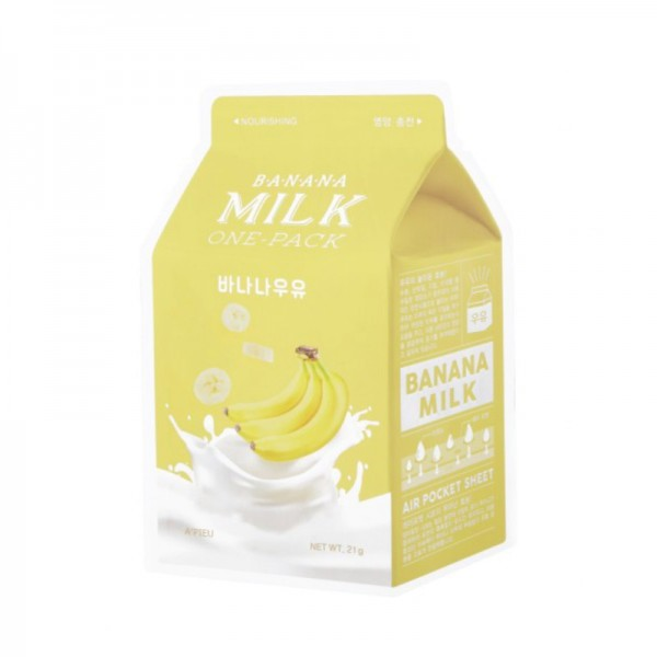 APIEU - Gesichtsmaske - Banana Milk One-Pack