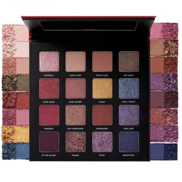 Milani - Lidschattenpalette - Gilded Rouge Eyeshadow Palette