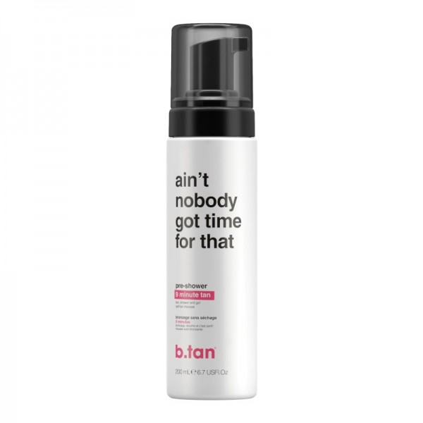 b.tan - Self Tan - aint nobody got time for that - pre-shower 9 minute tan