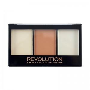 Makeup Revolution - Ultra Contour Kit - Lightening Contour F02
