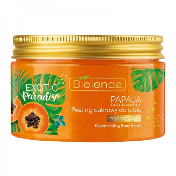 Bielenda - Peeling - Exotic Paradise Sugar Regenerating Body Scrub Papaya