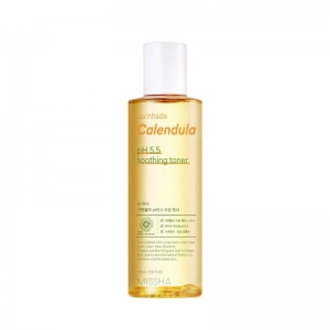 Missha - Tonico per il viso - Sunhada Calendula pH Balancing Soothing Toner