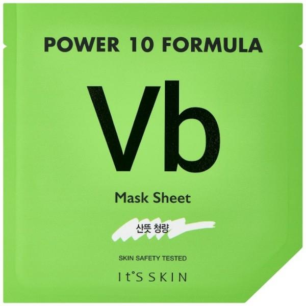 Its Skin - Gesichtsmaske - Power 10 Formula VB Mask Sheet