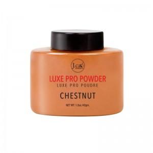 J.Cat - Puder - Luxe Pro Powder - Chestnut