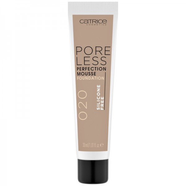 Catrice - Poreless Perfection Mousse Foundation 020 - Neutral Sand