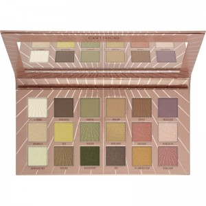 Catrice - Lidschattenpalette - Tansation - Sunshine Heat Me Up 18 Colour Eyeshadow Palette Neutral T