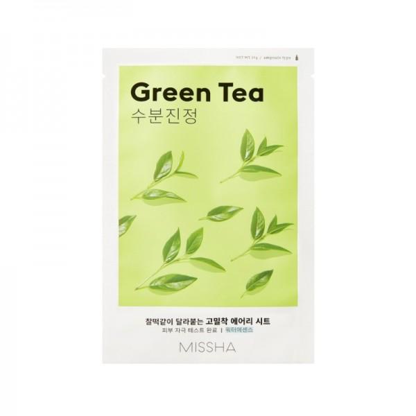 MISSHA - Airy Fit Sheet Mask - Green Tea