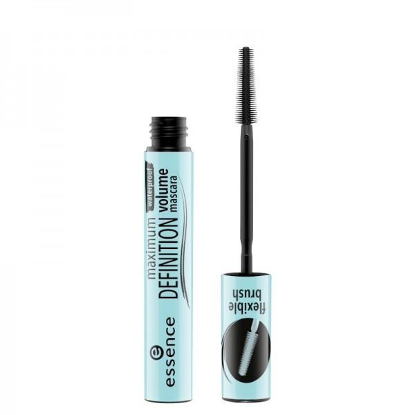 essence - maximum definition waterproof volume mascara