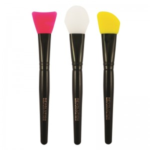 Makeup Revolution - Pinselset - Silicone Contour Set