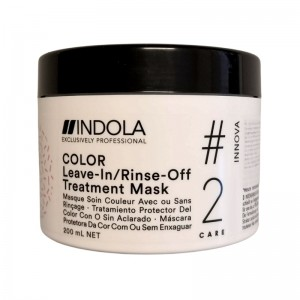 Indola - Haarmaske - Innova Color Leave-in/Rinse-off Treatment Hair Mask - 200ml