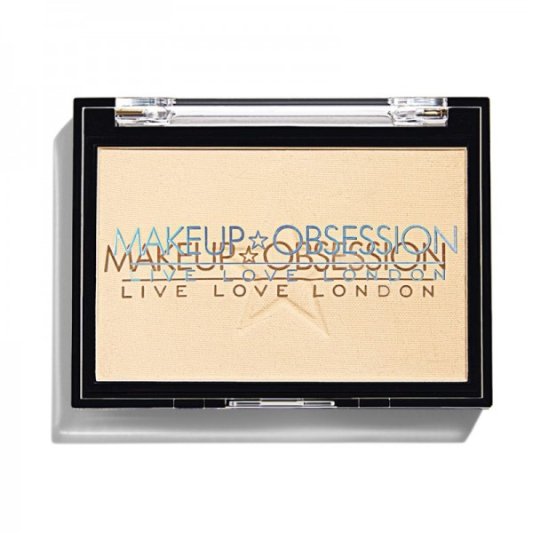 Makeup Obsession - Puder - Large Pressed Powder - Banana