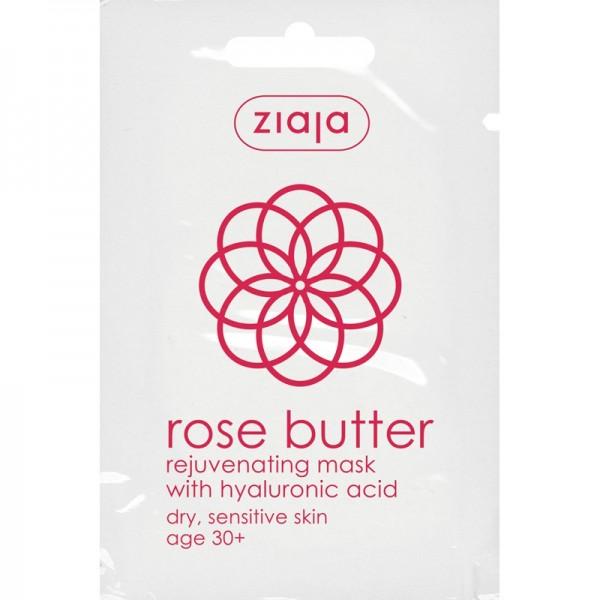 Ziaja - Gesichtsmaske - Rose Butter Rejuvenate Face Mask