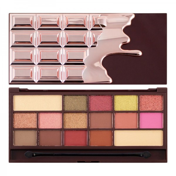 I Heart makeup - Eyeshadow Palette - I Heart Chocolate - Rose Gold V4