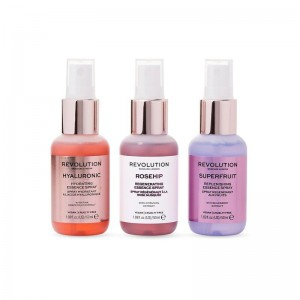 Revolution - Skincare Mini Essence Spray Collection - Hello Hydration