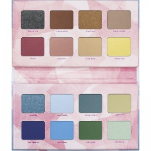 essence - online exclusives - CRYSTAL ICED eyeshadow palette