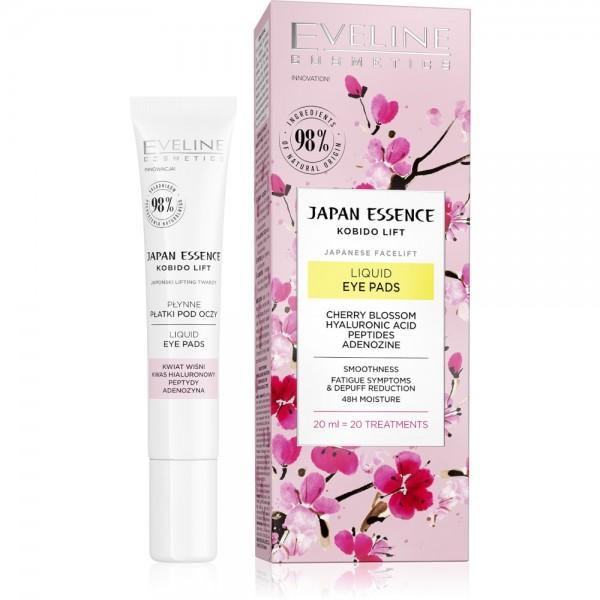 Eveline Cosmetics - Augenpads - Japan Essence Liquid Eye Pads