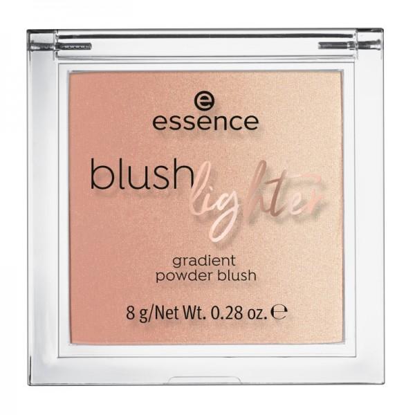 essence - Highlighter & Rouge - blush lighter 02 - Coral Sunset