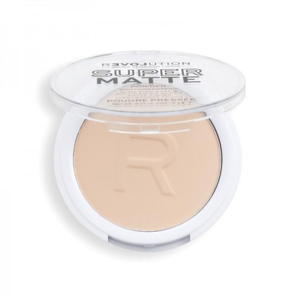 Revolution - Puder - Super Matte Pressed Powder - Translucent
