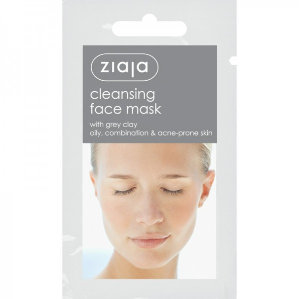 Ziaja - Gesichtsmaske - Cleansing Face Mask with Grey Clay